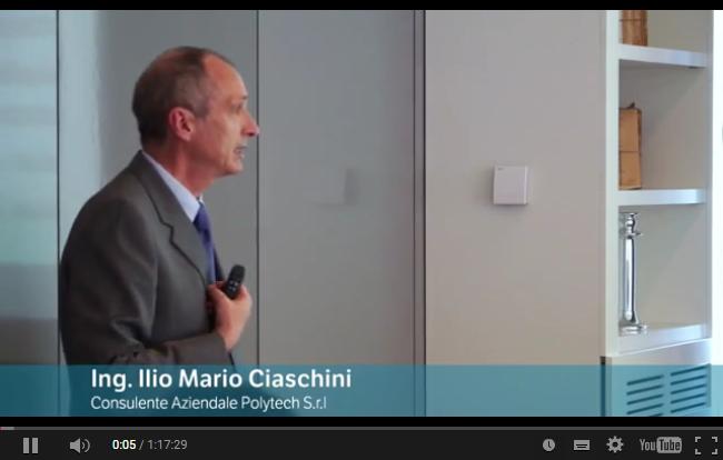 Ing. Ilio Ciaschini, consulente di direzione di Polytech